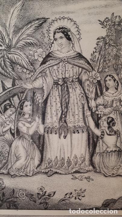 SANTA CATALINA. (XILOGRAFIA). SIGLO XIX. (Arte - Arte Religioso - Grabados)
