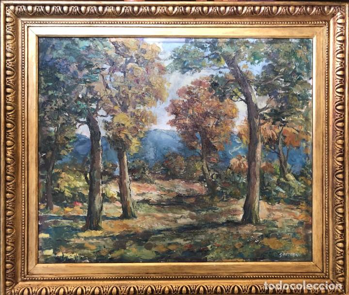 G.ESTEBAN,GRUNWALD ASLGE ESTEGAN, HUNGRIA 1909,MADRID,BARCELONA ,CADIZ,SEVILLA,MALAGA,ROMA,BERLIN (Arte - Arte Religioso - Pintura Religiosa - Oleo)