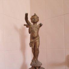 Arte: ANTIGUA FIGURA DE UN ANGEL PARA RESTAURAR POR FAVOR LEER DESCRIPCIÓN. Lote 210448746