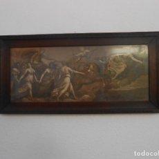 Arte: CUADRO MUY ANTIGUO BIBLICO. Lote 210590815