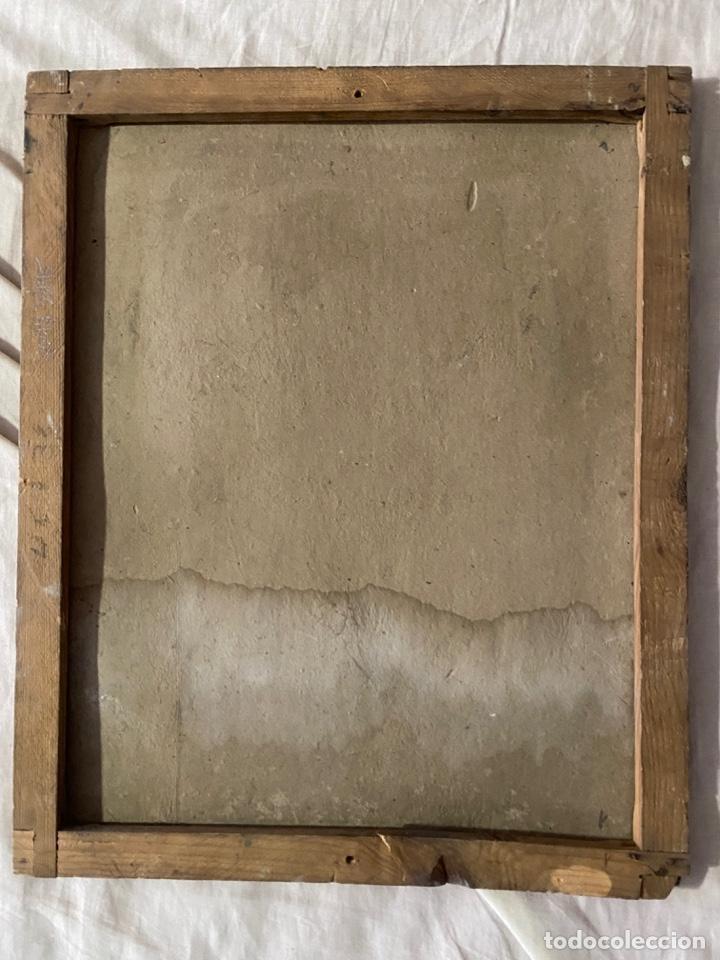 Arte: óleo sobre cartón , comienzos s. XX , personaje a investigar , obra sin firmar - Foto 9 - 209838145