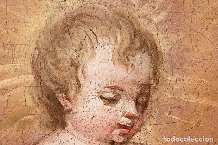 Arte: FRANCISCO ANTOLÍNEZ Y OCHOA Magnífico Óleo sobre lienzo con etiqueta de la Galería Caylus Enmarcado - Foto 10 - 195498620