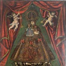 Arte: PINTURA BARROCA SIGLO XVII LA VIRGEN DE LA FUENCISLA. Lote 210733094