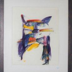 """Arte: """"DIRIGENT"""" - OTMAR ALT. ACUARELA ORIGINAL.. Lote 210820151"""