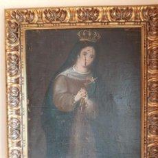 Arte: (ANT-200780)OLEO SOBRE LIENZO VIRGEN DE LOS DOLORES - SIGLO XVIII. Lote 211265699