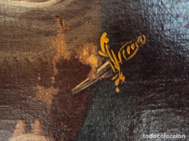 Arte: (ANT-200780)OLEO SOBRE LIENZO VIRGEN DE LOS DOLORES - SIGLO XVIII - Foto 7 - 211265699