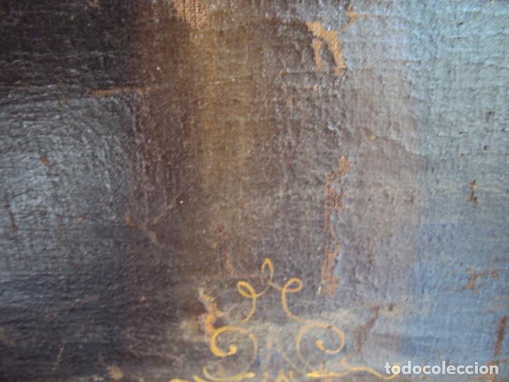 Arte: (ANT-200780)OLEO SOBRE LIENZO VIRGEN DE LOS DOLORES - SIGLO XVIII - Foto 9 - 211265699