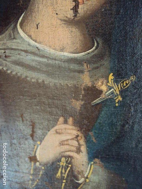 Arte: (ANT-200780)OLEO SOBRE LIENZO VIRGEN DE LOS DOLORES - SIGLO XVIII - Foto 13 - 211265699