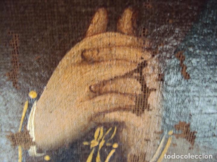 Arte: (ANT-200780)OLEO SOBRE LIENZO VIRGEN DE LOS DOLORES - SIGLO XVIII - Foto 22 - 211265699