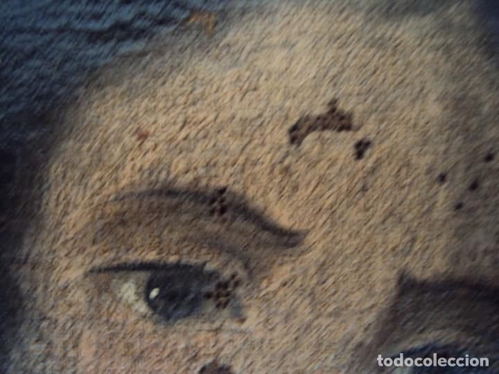Arte: (ANT-200780)OLEO SOBRE LIENZO VIRGEN DE LOS DOLORES - SIGLO XVIII - Foto 24 - 211265699