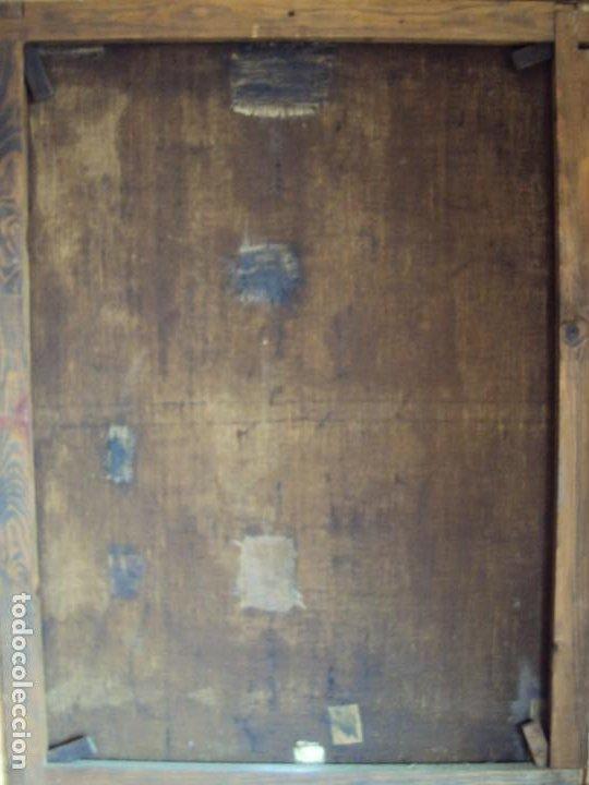 Arte: (ANT-200780)OLEO SOBRE LIENZO VIRGEN DE LOS DOLORES - SIGLO XVIII - Foto 27 - 211265699