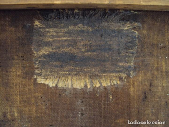 Arte: (ANT-200780)OLEO SOBRE LIENZO VIRGEN DE LOS DOLORES - SIGLO XVIII - Foto 29 - 211265699