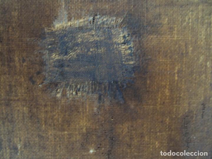 Arte: (ANT-200780)OLEO SOBRE LIENZO VIRGEN DE LOS DOLORES - SIGLO XVIII - Foto 30 - 211265699