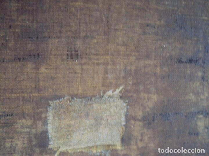 Arte: (ANT-200780)OLEO SOBRE LIENZO VIRGEN DE LOS DOLORES - SIGLO XVIII - Foto 32 - 211265699
