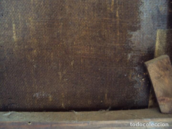 Arte: (ANT-200780)OLEO SOBRE LIENZO VIRGEN DE LOS DOLORES - SIGLO XVIII - Foto 33 - 211265699