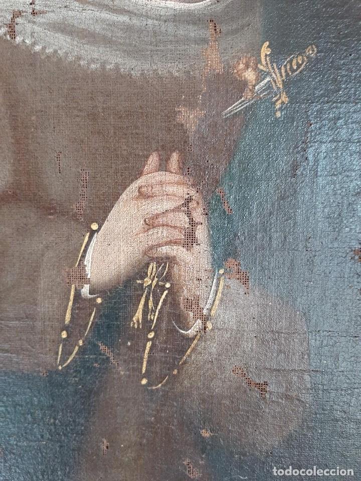 Arte: (ANT-200780)OLEO SOBRE LIENZO VIRGEN DE LOS DOLORES - SIGLO XVIII - Foto 20 - 211265699
