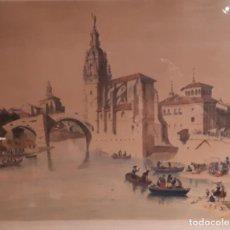 Arte: IGLESIA DE S. ANTONIO ABAD DE BILBAO.S.XIX. Lote 211468744