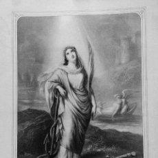Arte: STA. FILOMENA V. Y M. - EDITOR L. TURGIS - GRABADO LITOGRAFICO - 61 X 44.50 CM - SEGUNDA MITAD S.XIX. Lote 211501920