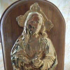 Arte: RETABLO RELIGIOSO- MINI. CORAZÓN DE JESÚS. Lote 211609245