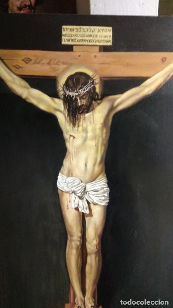 CRISTO DE VELAZQUEZ (Arte - Arte Religioso - Pintura Religiosa - Oleo)