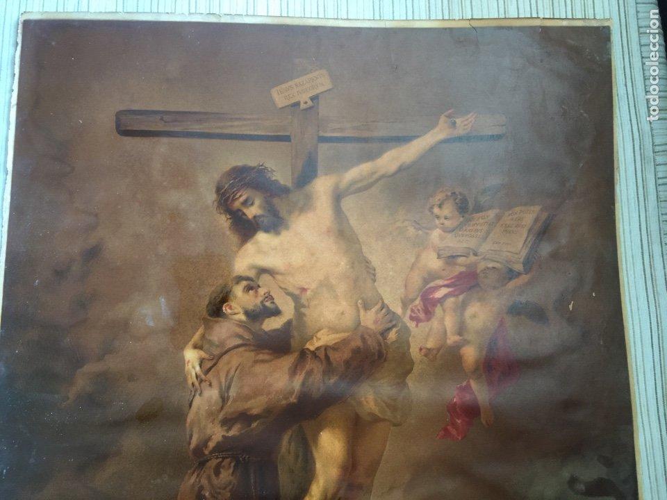 Arte: SAN FRANCISCO ABRAZANDO A CRISTO FRANCOIS MURILLO - Foto 2 - 211685345