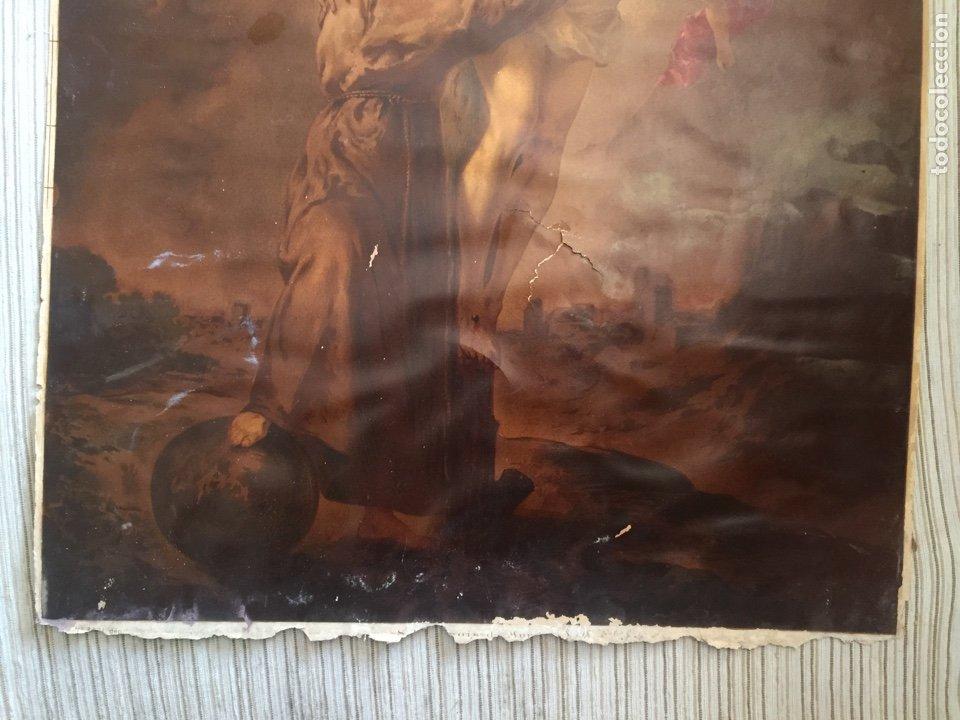 Arte: SAN FRANCISCO ABRAZANDO A CRISTO FRANCOIS MURILLO - Foto 3 - 211685345