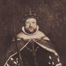 Arte: HANS HOLBEIN (1497-1543) RETRATO DE HENRY VIII. Lote 211796137