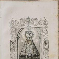 Arte: SIGLO XIX LITOGRAFIA NTRA. SRA. DE LORETO ,17X26 CMS. Lote 211810760