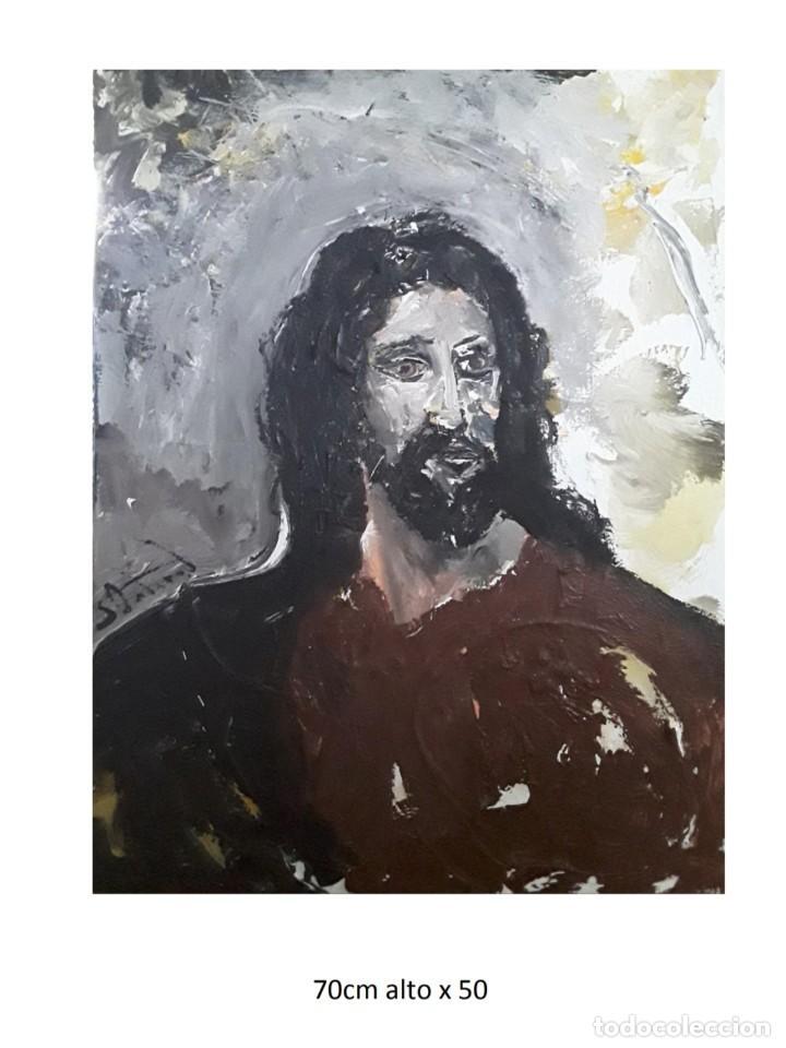 CUADRO.PINTURA .OBRA SERGIO ONDARO ORIGINAL (Arte - Arte Religioso - Pintura Religiosa - Oleo)