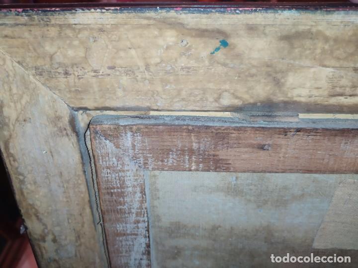 Arte: ÓLEO SOBRE LIENZO PAISAJE CAMPO BARRACAS VALENCIANAS FIRMADO GIL MARCO MAL ESTADO RESTAURAR - Foto 34 - 211915368