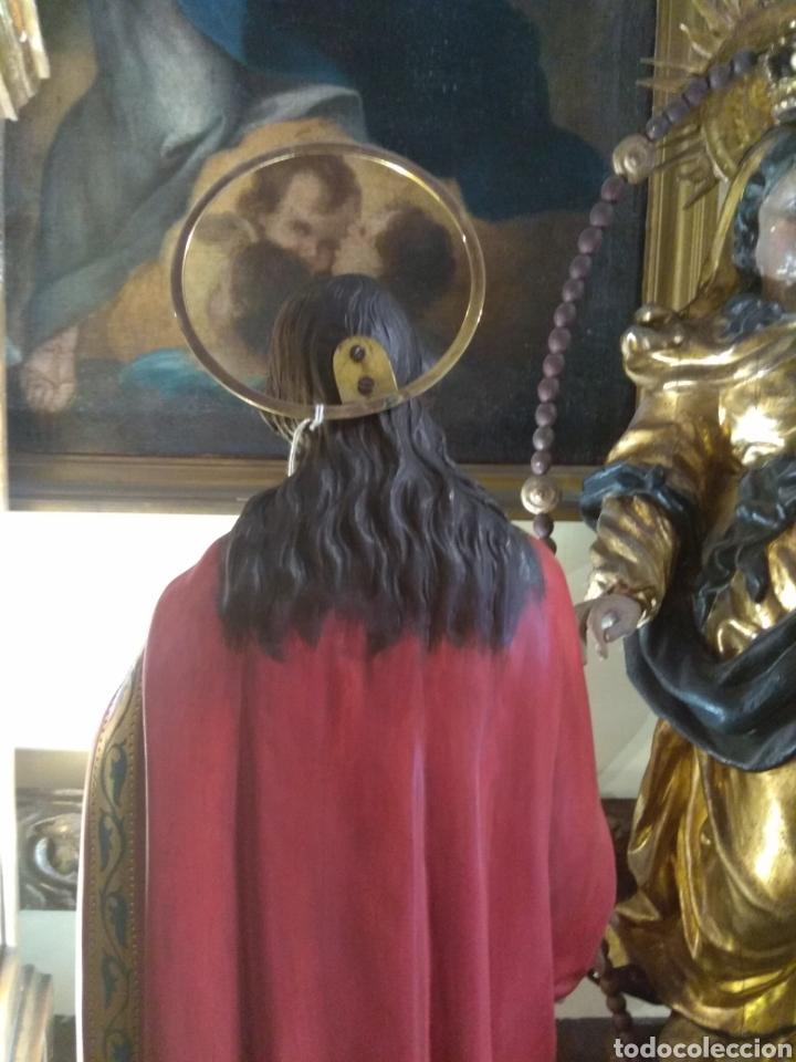 Arte: Escultura Sagrado Corazón de Jesús XIX Madera - Foto 16 - 147229958