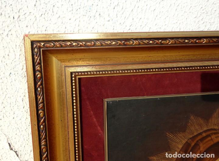 Arte: Cuadro al oleo de virgen con niño Jesus y San Juanillo,, estilo colonial - Foto 8 - 212173642
