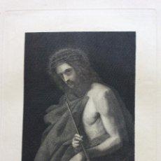 Arte: ECCE HOMO ,GRABADO ORIGINAL SIGLO XIX-F.NAVARRETE. Lote 212203111