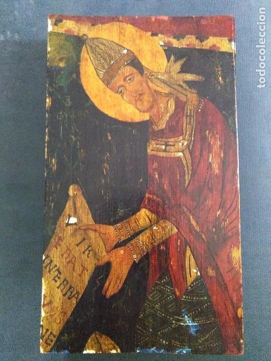 RETABLO PINTURA ESTILO ROMÁNICO (Arte - Arte Religioso - Retablos)