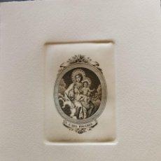 Arte: SEVILLA, ESPECTACULAR GRABADO DE NTRA.SRA. DEL ROSARIO, GRABO JOSE MARIA MARTIN,19X23 CMS. Lote 212762682