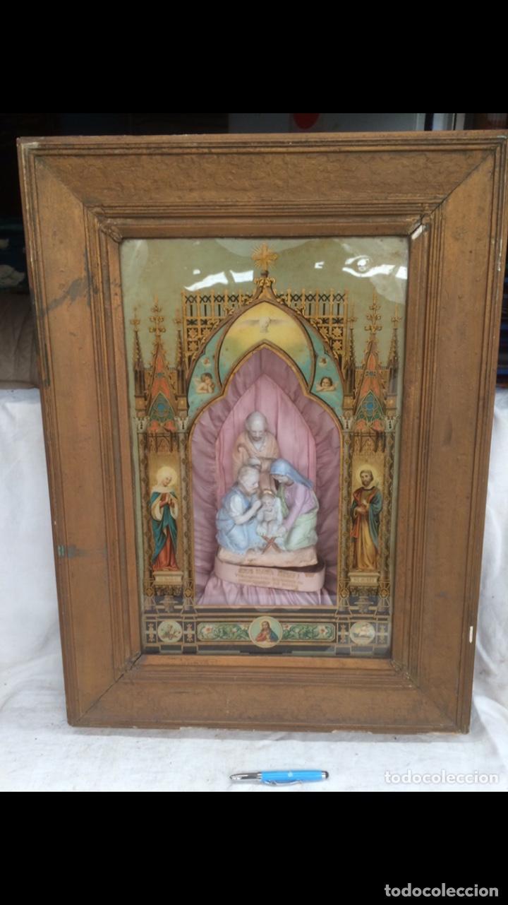 PRECIOSO Y GRAN ICONO RELIGIOSO CON MUZICA! (Arte - Arte Religioso - Iconos)