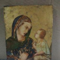 Arte: ICONO RELIGIOSO SOBRE TABLA. Lote 213164151