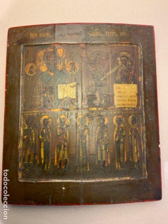 ICONO RUSO (S.XVIII-XIX) (Arte - Arte Religioso - Iconos)
