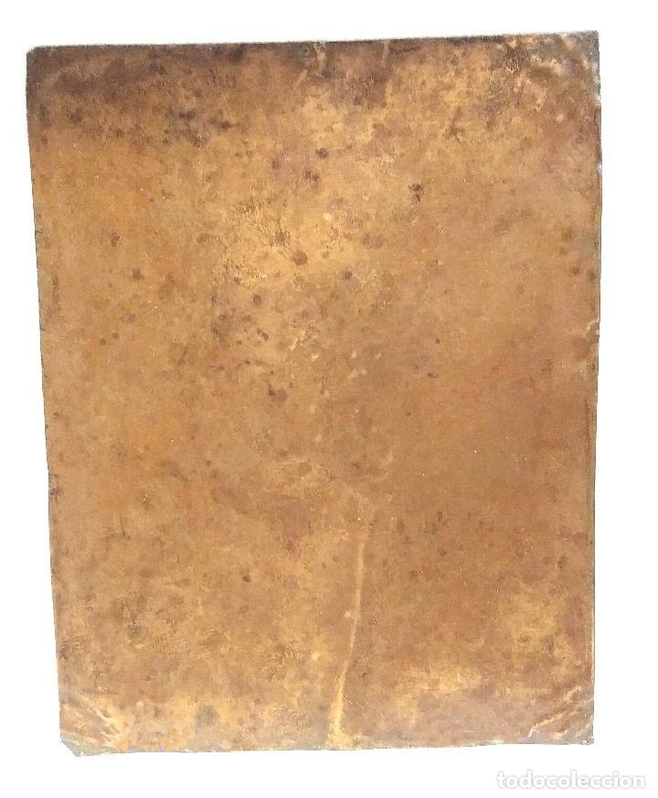 Arte: San Narciso óleo sobre cobre S XVIII. Med. 19 x 24 cm - Foto 3 - 213888431