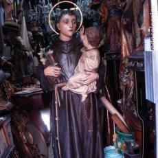 Arte: SAN ANTONIO DE PADUA EL ARTE CRISTIANO DE OLOT GRANDES MEDIDAS. Lote 213996921