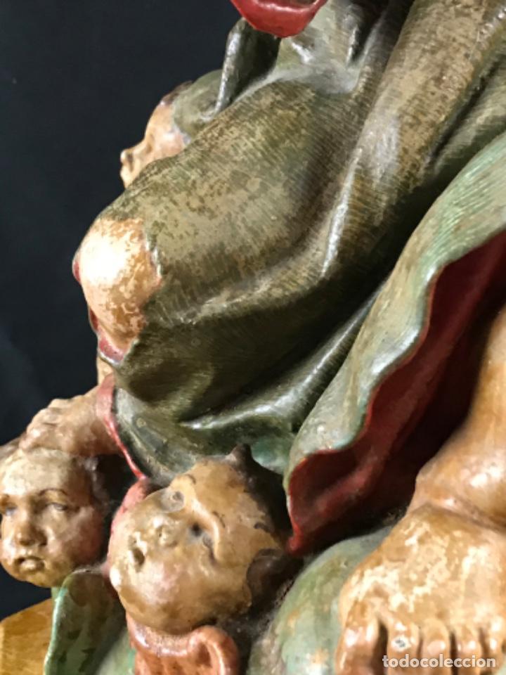 Arte: IMPORTANTE NIÑO DE PLOMO SAN JUANITO ESCUELA ANDALUZA JOSE RISUEÑO O PEDRO ROLDAN SIGLO XVIII - Foto 13 - 214019711