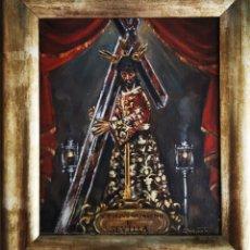 Arte: PINTURA NTRO. PADRE JESÚS DEL SILENCIO(SEVILLA) SUBASTA DE BONDAD CÁRITAS- CLEMENTE RIVAS. Lote 214094295