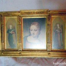 Arte: TRÍPTICO RELIGIOSO 98 X 62 CMS.. Lote 214200235