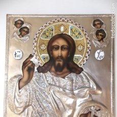 Arte: ICONO RELIGIOSO POLCACO VINTAGE BOGUSLAW GLOGOWSKI PINTADO A MANO. Lote 205873578