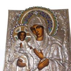 Arte: ICONO RELIGIOSO POLCACO VINTAGE BOGUSLAW GLOGOWSKI PINTADO A MANO. Lote 214269903