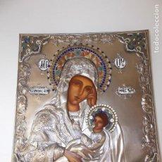 Arte: ICONO RELIGIOSO POLCACO VINTAGE BOGUSLAW GLOGOWSKI PINTADO A MANO. Lote 214271432
