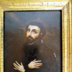 Arte: SAN FRANCISCO JAVIER, ÓLEO SOBRE COBRE DEL SIGLO XVIII, COLECCIÓN XAVIER MONTSALVATGE. Lote 214630492