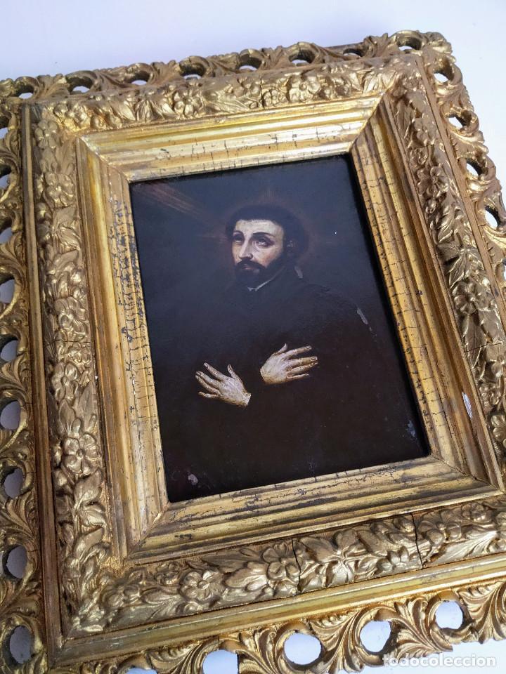 Arte: San Francisco Javier, óleo sobre cobre del siglo XVIII, colección Xavier Montsalvatge - Foto 4 - 214630492