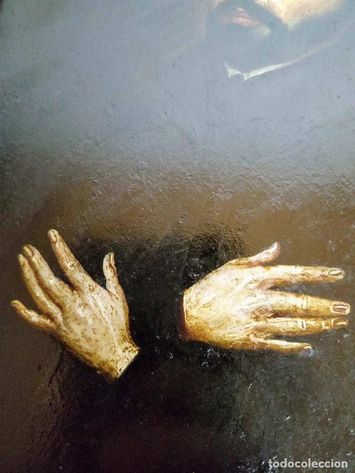Arte: San Francisco Javier, óleo sobre cobre del siglo XVIII, colección Xavier Montsalvatge - Foto 6 - 214630492