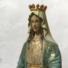 Arte: VIRGEN MILAGROSA DEL SIGLO XIX. TALLA DE MADERA POLICROMADA. Lote 215084973